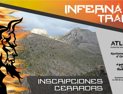 INSCRIPCIONES CERRADAS INFERNAL TRAIL