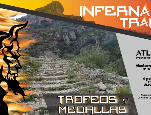 MEDALLAS Y TROFEOS INFERNAL TRAIL