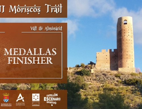 MEDALLAS FINISHER MORISCOS TRAIL
