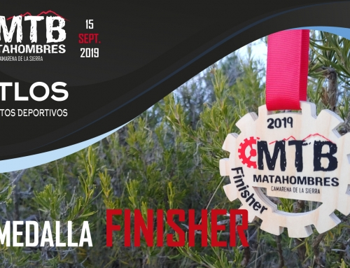 MEDALLAS FINISHER MTB MATAHOMBRES