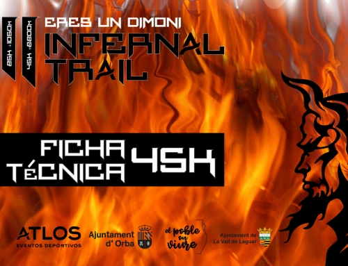 FICHA TÉCNICA 45K INFERNAL TRAIL