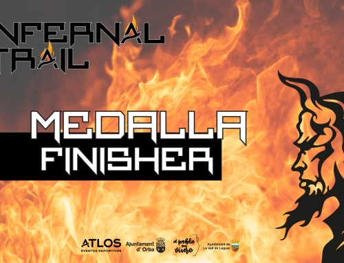 MEDALLA FINISHER INFERNAL TRAIL